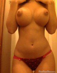 huge perky foobs on a thick latina with a small waist - greattits