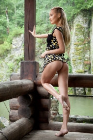 Eleonora wild nature - Femjoy nude photo gallery - HotFModels - Blonde