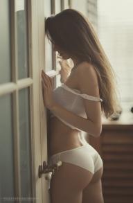 Naughty, butt nice - lingerie