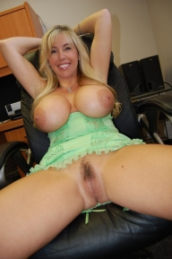 Blonde porno model with amazing tits and hot pussy  - BLONDE