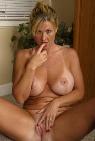 Horny MILF - blonde