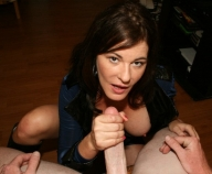 mature women handjob » Guy gets handjob from girlfriends mom - Handjob