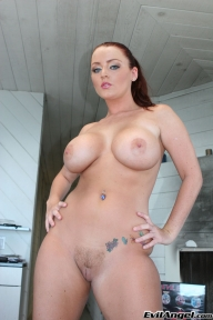 Would You Fuck Me Im A Busty Tit And Ass Brunette With Groomed Shaved Pussy and Tattoos - Your Hardcore Porn