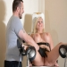 Bizarre clinic bdsm of busty german slaveslut Melinie Moon in pussy punishment and doctors rough domination of blonde masochist in a hospital gyno chair