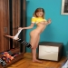 Beautiful Nubile Angel Hott spreads her legs wide exposing her pussy @ Teen Sex HQ