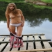 Cute getting stripped off at the lake | Fuqqit-Porn Photo Gallery