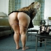 Blonde milf with amazing big ass