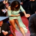 Eva Longoria Wardrobe Malfunction Flashes the Goods at Cannes