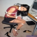 Indian secretary bondage of sexy milf dominated and tied up at work by her boss
